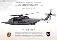 "UNITED STATES AIR FORCE AIR FORCE SPECIAL OPERATIONS COMMAND 352D SPECIAL OPERATIONS GROUP 21ST SPECIAL OPERATIONS SQUADRON ""Dust Devils""OPERATION ""IRAQI FREEDOM"""