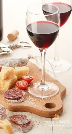 wine and cheese....