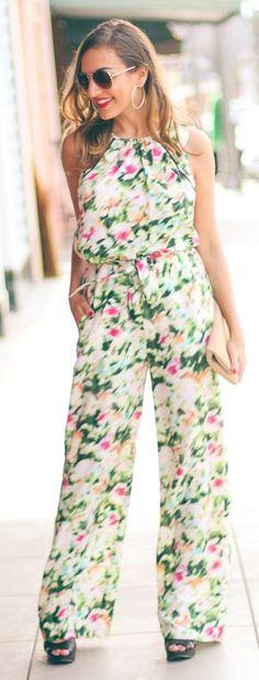 Floral Inspiration Jumpsuit