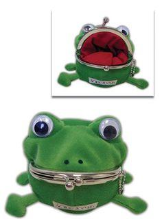 Naruto: Frog Plush Coin Purse