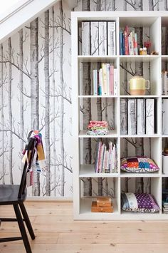 cole sons woods wallpaper son wallpaper nature inspired home decor interior design cole and son woods wallpaper cheap Modern Home Office, Cole And Son Wallpaper, Decor, Interior Design, House Interior, Wood Wallpaper, Home, Interior, Home Decor