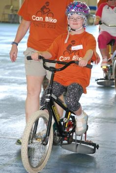 Can Bike Camp Seattle teaches people with disabilities to ride two-wheeled bikes