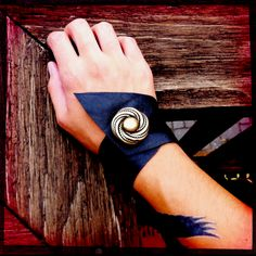 Up-cycled #leather and #vintage costume #jewelry = my new line?? Any takers?