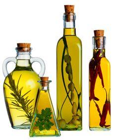 Aceite saborizado a las hierbas