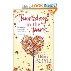 #Thursdays in the #Park by Hilary #Boyd. Kindle and Paperback Edition.