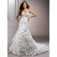 Love the ruching on bottom http://www.alluregown.com/52-123-large/chic-sweetheart-mermaid-taffeta-wedding-dress.jpg