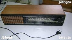 Eladó Saturn 422 retró rádió: Saturn 422 retró rádió  Használt, működőképes régi rádió eladó.  220V  Méretek: 53x12x15cm