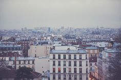 Paris rooftops (by Julia Robbs) // rooftops are definitely a thing