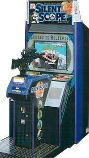 Silent Scope Arcade Game (1999)