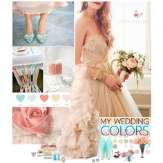 My wedding Colors!, created by lovelypao on Polyvore