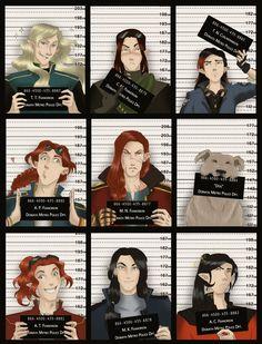 wanted by greenapplefreak on DeviantArt (Fëanorians, Celebrimbor and Huan)