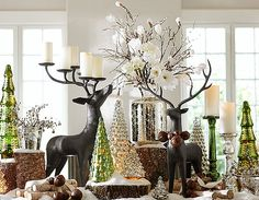Holiday Decorations Rustic Christmaschristmas Homepottery Barn