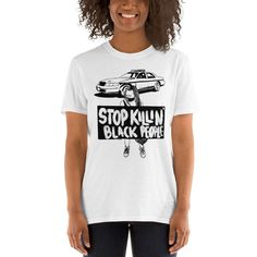 Stop Killing Black People, Protest, I Can't Breathe George Floyd - T- Shirt - 1 Dollar of Sales Donated to Charity or Family of George Floyd She Mask, Eric Garner, Small Faces, Cant Breathe, Donate To Charity, Black People, To My Daughter, Cotton, T Shirt