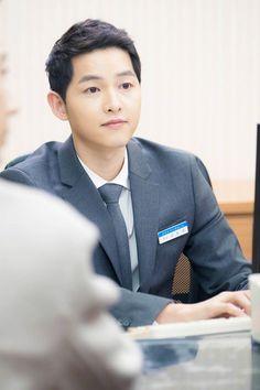 "Joong Ki oppa makes a cameo appearance in drama ""Man to Man"" ep 9"