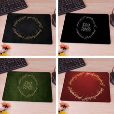 The Lord of The Rings Logo Mousepads
