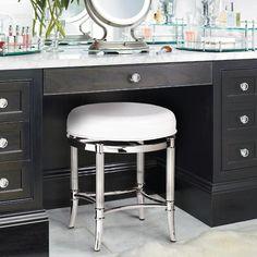 Gallery One Bailey Vanity Stool