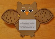 Promise Owl!  so cute