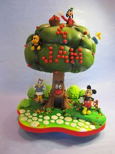 "mickey mouse ""jam"" cake"