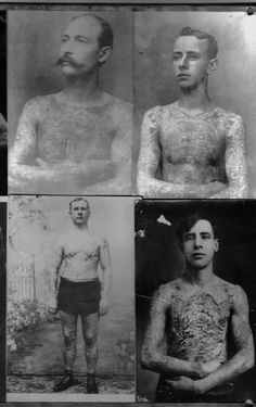 Old Tattoos-a tradition that lasts forever