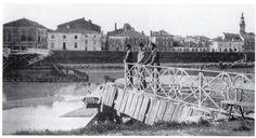 Verona storica - istantanea dei danni provocati dalla piena del 1882.