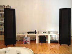 Magnepan mg1.7 speakers; bladelius thor III amp