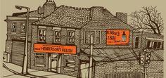 Printing Sheffield : Museums Sheffield by Jo Peel Sheffield Steel, Retro Advertising, Urban Landscape, Best Memories, Art Pictures, Art Pics, Artist At Work, Illustrations Posters, Street Art