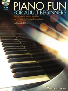 How Learning Piano Can Be Fun For Kids Piano Fun for Adult Beginners A lesson book for adult piano learners. Geared more for group than private lessons.