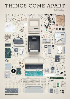"""Knolling is a unique way of taking photos of similar objects in a cool manner. The actual definition of knolling is """"the process of arranging like objects in Web Design, Graphic Design, Book Design, Cover Design, Design Moda, Graphic Art, Things Organized Neatly, Coming Apart, Take Apart"""