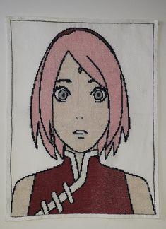 SAKURA HARUNO Sakura Haruno, Fallout Vault, Manga, Boys, Fictional Characters, Art, Cross Stitch, Characters, Baby Boys
