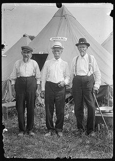 Veterans at Gettysburg in 1913