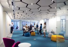 △ case-study of our Houston office, featuring yours truly in a couple of pictures | Fly On G6 - Gensler Corporate Coworking in Houston