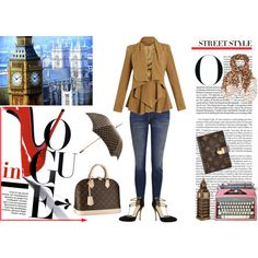 In Vogue by yamyiy on Polyvore featuring Alexander McQueen, Current/Elliott, Gucci and Louis Vuitton