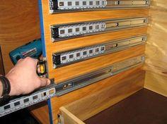 Tips on Installing Full Extension drawer Slides
