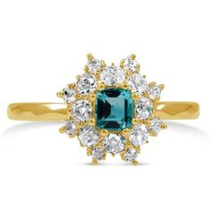 The Appleby Ring #BrilliantEarth #Vintage. I don't really like gold, but this is beautiful.