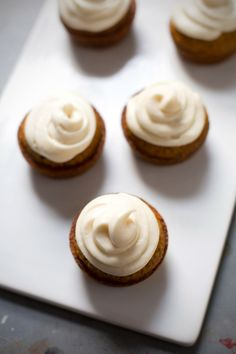The Best Carrot Cake Cupcakes with Cream Cheese Frosting - lightly spiced, perfectly moist, and oh that cream cheese frosting. | pinchofyum.com