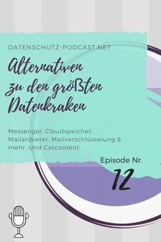 #Messenger, #Cloudspeicher, #Mailanbieter, #Mailverschlüsselung & mehr. Und #Catcontent.  #Datenschutz #Podcast #Privatsphäre #Privacy #DSGVO #eMail #Cloud #PGP #Verschlüsselung #Alternativen #Alternative #DSGVOkonform Social Security, Personalized Items, Easy, Cards, Information Privacy, Alternative, Maps