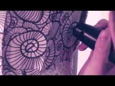 3ders.org - Stunning 3Doodled seashell lace dress | 3D Printer News & 3D Printing News