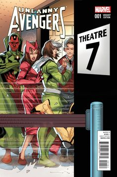COUNTER-EVOLUTIONARY PART From the ashes of AXIS an all-new, all different Avengers assemble!- The tragedy at the end of AXIS has left the Uncanny Avengers vulnerable, and someone is taking advantage of it.- One of the Avengers oldest foes returns . Avengers 2015, Uncanny Avengers, The Uncanny, Marvel Comics Art, Marvel Dc, Cosmic Comics, Marvel Comic Character, Marvel Characters, Comic Book Covers