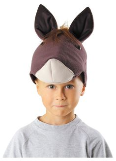 A quick easy and inexpensive diy kids horse costume horse horse hat by kraszek solutioingenieria Image collections