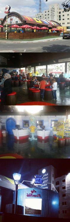 Real-Life Krusty Krab Restaurant (SpongeBob SquarePants) in the Palestinian city of Ramalla.