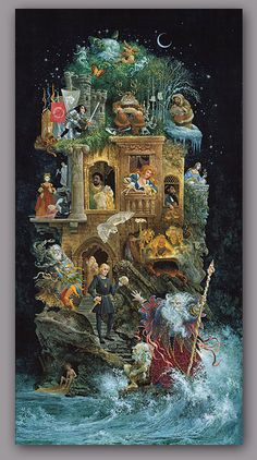 """shakespearean fantasy"" by james christensen"