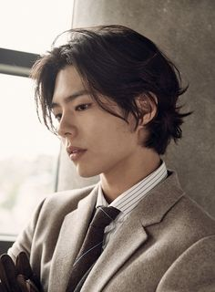 Pose Reference Photo, Hair Reference, Handsome Asian Men, Handsome Boys, Cut My Hair, Hair Cuts, Park Go Bum, Photographie Portrait Inspiration, Bo Gum