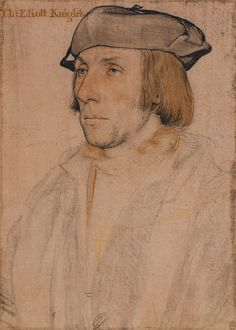 Hans Holbein the Younger, Sir Thomas Elyot (1532-34,| Royal Collection Trust, London)