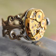 steampunk watch...