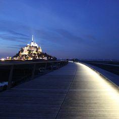 Dietmar Feichtinger Architectes : La Passerelle Mont-Saint-Michel