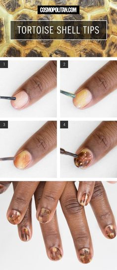 Tortoise Nail Tutorialijkjnkjnm