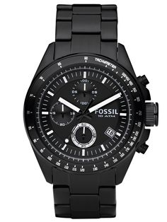 Buy FOSSIL CH2601IE Decker Gents Chronograph now from uhrcenter Watch Shop. ✓Official Fossil Stockist!