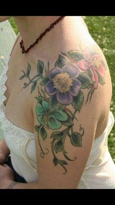 Flowers tatto