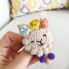 #amigurumibrooch #handmadebrooch #lamabrooch #crochetlama #amigurumilama #lamalove #crochetbrooch #brooch Crochet Brooch, Crochet Earrings, Amigurumi Patterns, Crochet Patterns, Woolen Flower, Woolen Craft, Easy Halloween Crafts, Embroidery Stitches Tutorial, Needle Felted Animals