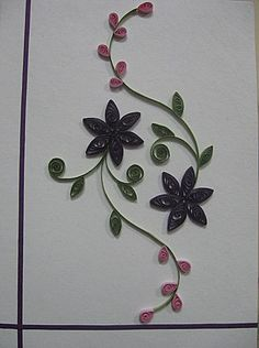 Image detail for -patterns quilling patterns simple floral designs quilling patterns ...